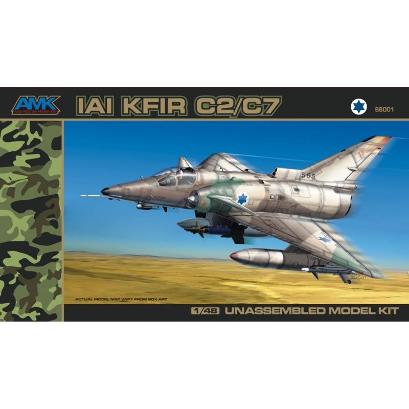 AMK 88001 KFIR C2/C7 MODEL KIT 1/48