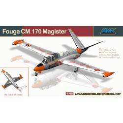 AMK 88004 FOUGA CM. 170 MAGISTER MODEL KIT 1/48