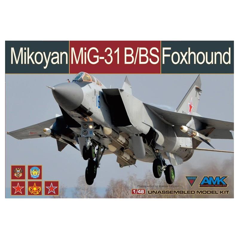 AMK 88003 MIKOYAN MIG-31BM FOXHOUND 1/48