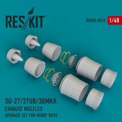 Su-27/27UB/30MKK exhaust nozzles