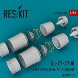 Su-27/27UB exhaust nozzles